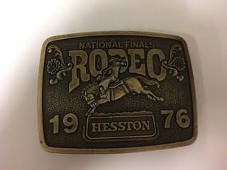 NFR 1976 Belt Buckle.