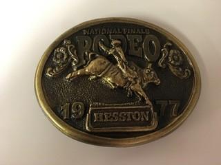 NFR 1977 Belt Buckle.