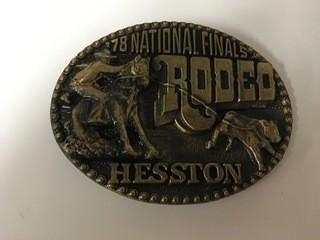 NFR 1978 Belt Buckle.