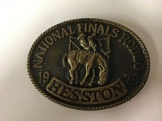NFR 1979 Belt Buckle.