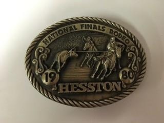 NFR 1980 Belt Buckle.