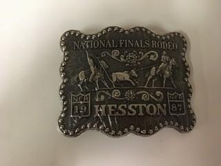 NFR 1987 Belt Buckle.