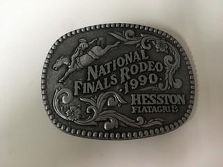 NFR 1990 Belt Buckle.
