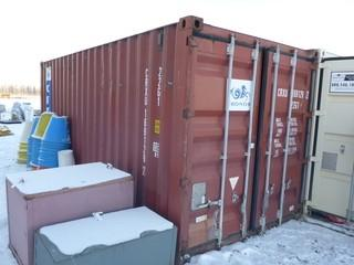 20ft Storage Container C/w Contents. SN CRXU1691292. *Note: Buyer Responsible For Load Out*