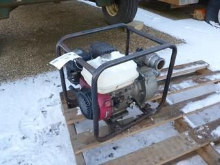 Honda Gas Powered 2in Pump