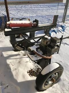 Briggs and Stratton Gas / Hydraulic Wood Splitter