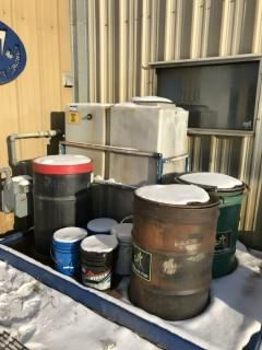 Used Oil Storage Containment System, c/w Skid Mount