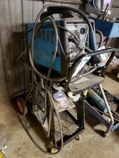 Clarke Welder - MIG 130EN, Fan Cooled, S/N H-01-500231, c/w Cart