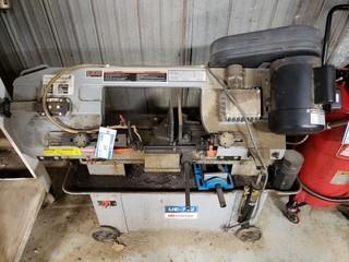 7in - 12in Hydraulic Metal Cutting Band Saw, Model UE-712, S/N 11010531, 120V