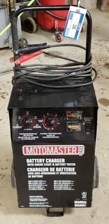Motomaster Battery Charger With Engine Start and Battery Tester, Model 077-1587-2