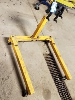 Power Fist Engine Stand, 1250lbs Capacity