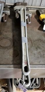 (2) Ridgid 36in Aluminum Pipe Wrenches