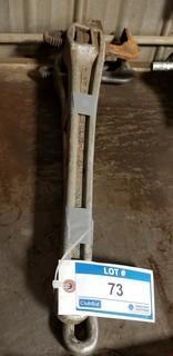 (2) Ridgid 24in Aluminum Pipe Wrenches