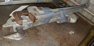 (3) Ridgid 24in Aluminum Pipe Wrenches
