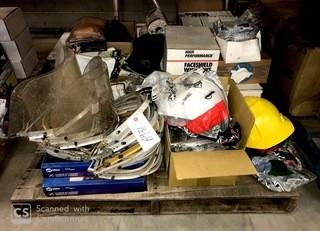 Qty Of Face Shields, Hard Hats, Gloves And Hearing Protection