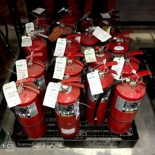 Qty Of Fire Extinguishers