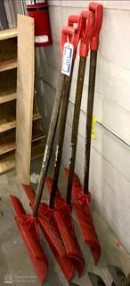 Qty Of (4) Snow Shovels