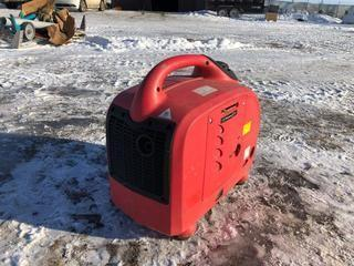 Gas Generator Pull Start 120 Volt.