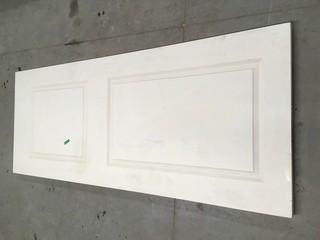 Used Interior Door 35 3/4x79x 1 3/4 c/w Pep Hole.