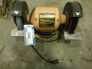 """DeWalt 8"""" Bench Grinder, 120V  (W-1,1,1)"""
