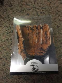 "Disney Studio Collection Right Handed 11"" Leather Ball Glove."
