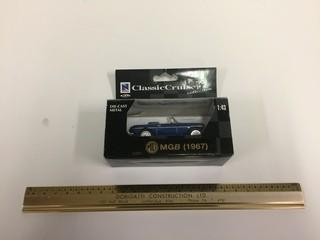 Classic Cruiser MGB 1967 Diecast Model, 1:43 Scale.