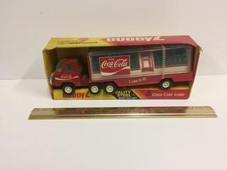 Buddy L Steel Coca-Cola Trailer Model.