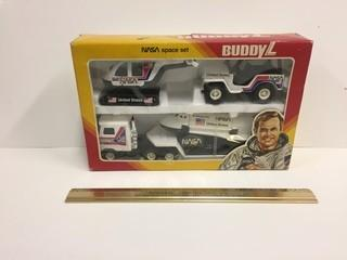 Buddy L Steel Nasa Space Set.