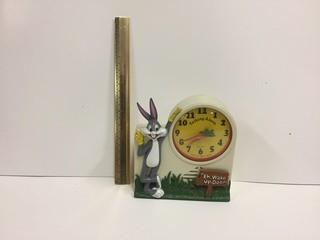 Bugs Bunny Talking Alarm Clock.
