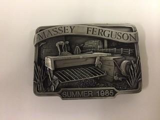 Massey Ferguson Summer 1985 Belt Buckle.