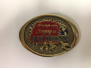 Snap-On Changing to New Horizon Belt Buckle.