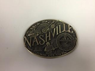 Nashville Belt Buckle.