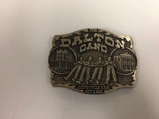 Dalton Gang Belt Buckle.