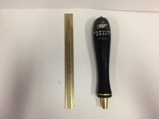 Miller Genuine Draft Beer Tap Handle.