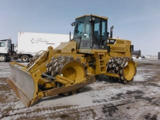 2009 Cat 815F II Wheel Packer