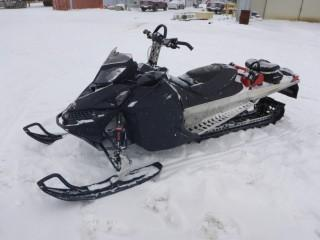 """2010 Ski Doo, VIN 2BPSCAD1AV000002, Summit 800 With Reverse, Electric Start, 2051 Miles, MRP Exhaust with Cooker, Reversable Ice Scratchers, 163"""" Track with 2.5"""" Paddles, c/w jerry can, quick attach trunk, ski doo sled cover, quick clickers for clutch"""