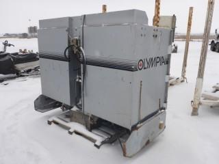 """2007 Olympia Ice Resurfacer, Model A500, S/N 702500, 82"""" Wide, 3 Point Hitch, Hydraulic Drive"""
