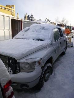 2007 Dodge 2500 SLT 4X4 Quad Cab Diesel Pick Up C/w A/T, 6.7L Cummins And Trailer Hitch. Showing 303,406 Kms. VIN 1DKS28C77J507789. Unit V-03 *Note: Rear LS Door Damaged, Missing Rear Lights*