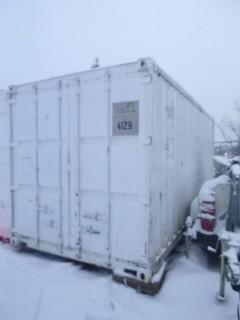 20ft Storage Container. Unit 4129 *Note: Buyer Responsible For Load Out*