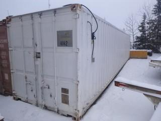 40ft Storage Container C/w Contents. Unit 4142. *Note: Buyer Responsible For Load Out*