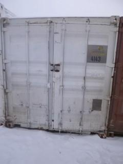 40ft Storage Container C/w Contents. Unit 4143. *Note: Buyer Responsible For Load Out*