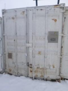 40ft Storage Container C/w Fuel Fired Boiler And Misc Supplies. Unit 4131. *Note: Buyer Responsible For Load Out*