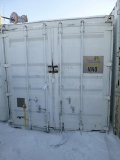 40ft Storage Container C/w Contents. Unit 4140. *Note: Buyer Responsible For Load Out*