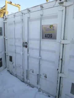 40ft Storage Container C/w Contents. Unit 4139. *Note: Buyer Responsible For Load Out*