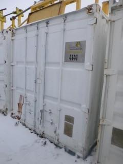40ft Storage Container C/w Contents. Unit 4141. *Note: Buyer Responsible For Load Out*