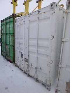 40ft Storage Container C/w Rear Door Entrance And Contents. Unit 4310. *Note: Buyer Responsible For Load Out*