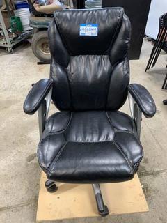 Leather Adjustable Task Chair