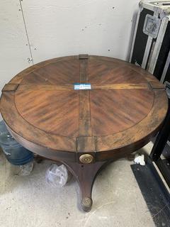 "38"" X 30.5"" Wood Table"