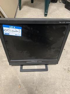 The LCD Universe DCLCD Computer Monitor