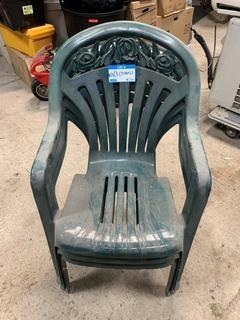 Qty Of (3) Patio Chairs